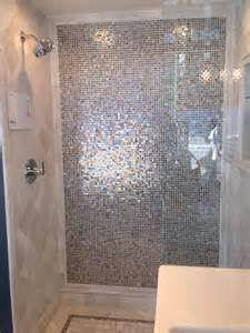 bathroom tile ideas for showers iridescent tile bathroom iridescent tile