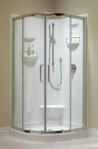 36 Inch Round Corner Shower