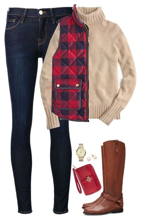 Turtle Neck Sweater Checked Vest And Riding Boots My