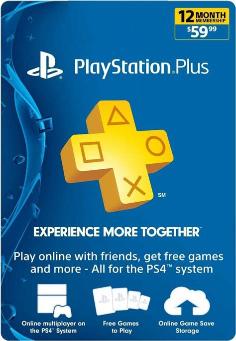 sony playstation year monthgamecard psn ps