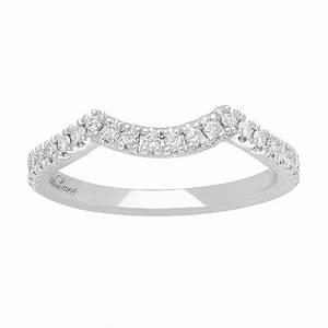 neil lane 14ct white gold 1 5ct wedding band ring ernest With 14ct white gold wedding rings