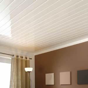 Faux Plafond Pvc : faux plafond pvc d corama ~ Premium-room.com Idées de Décoration