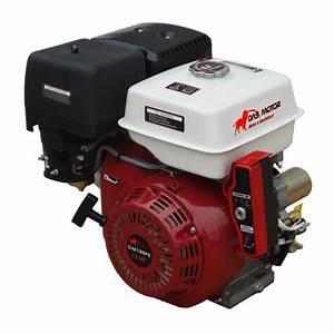 13 Hp Gx390 Recoil  U0026 Electric Start Gasoline Engine