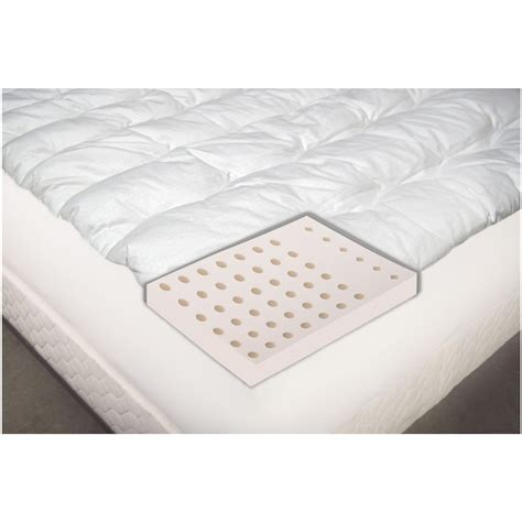 cooling bed topper isotonic 174 2 quot iso cool mattress topper 422259 mattress
