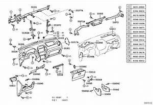 2005 Toyota Rav4 Instrument Panel Air Duct  Body