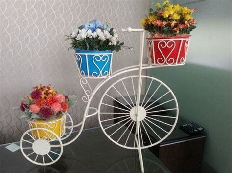 flower pot stand bicycle flower stand manufacturer