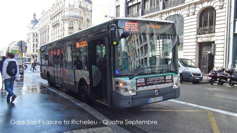 Paris Bus Ratp Irisbus Citelis Rt. 20 Gare Saint-lazare To