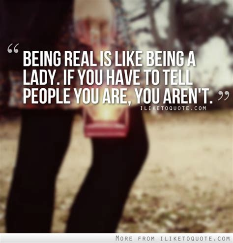being real is like being a