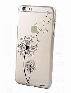 Coque Transparente Iphone 6 : coque transparente pissenlit pour apple iphone 6 6s coquediscount ~ Teatrodelosmanantiales.com Idées de Décoration