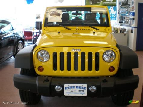yellow jeep interior 2011 detonator yellow jeep wrangler unlimited sport 4x4