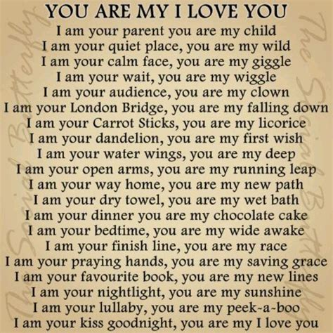 You Are My I Love You! #poem #reflection #reflections