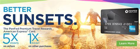 Maybe you would like to learn more about one of these? Better Sunsets - PenFed Premium Travel Rewards American Express® Card