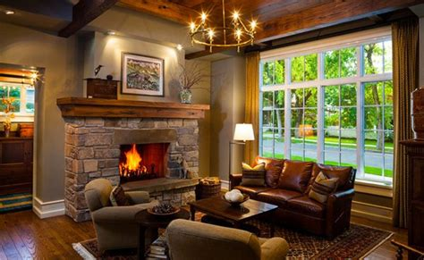 plantation home designs 15 warm craftsman living room designs home design lover