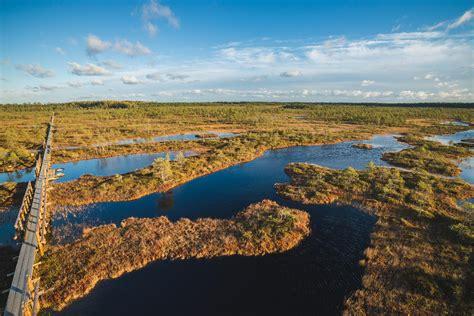 naturschutzgebiet endla und zentrum  tooma estland