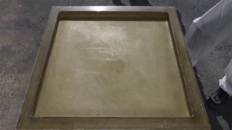 plaque de verre pour aquarium fabrication d un moule pour dalle beton