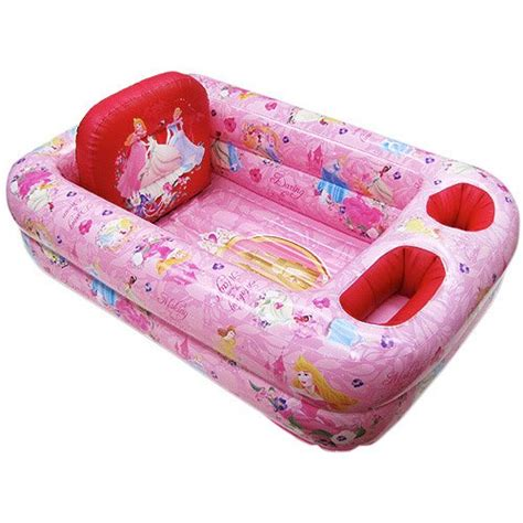 disney princess inflatable safety bathtub for baby