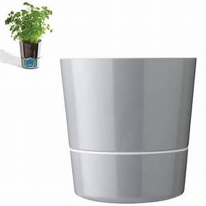 Pot À Réserve D Eau : pot hydro r serve d 39 eau gris grand mod le rosti mepal ~ Louise-bijoux.com Idées de Décoration