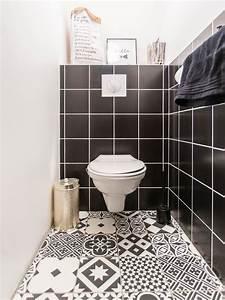 jolie decoration de toilettes par marc antoine a With porte d entrée pvc avec mini salle de bain wc