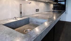 Arbeitsplatte Küche Beton : betonarbeitsplatte lithic garden in 2019 ~ Watch28wear.com Haus und Dekorationen