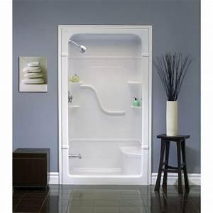 best 25 fiberglass shower ideas on pinterest fiberglass With kitchen cabinets lowes with handicap sticker application