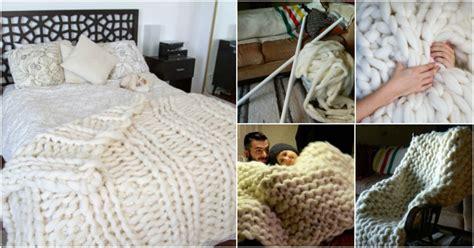 knit    giant wool blanket find fun