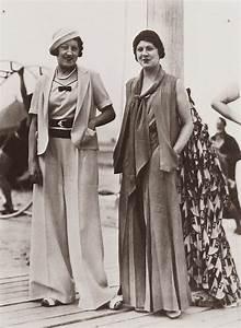 Tenue Femme Année 30 : la curiosit du jeudi des femmes en pantalon mode des ann es 1930 1940 ~ Farleysfitness.com Idées de Décoration