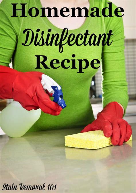 sanitizing  bleach    homemade disinfectant