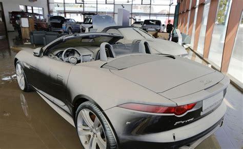 Jaguar F-types Destroyed In German Floods » Autoguide.com News