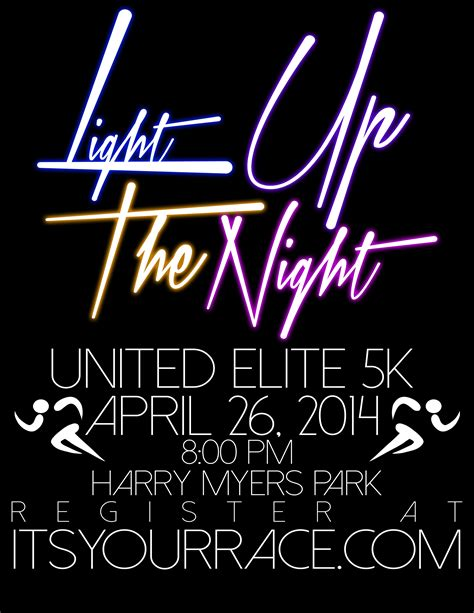 light up the 5k light up the united elite 5k at harry myers park