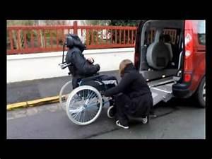 Mettre Un Fauteuil Roulant Dans Une Voiture : ma renault kangoo tpmr amenagee pour mon fauteuil chaise roulante youtube ~ Medecine-chirurgie-esthetiques.com Avis de Voitures