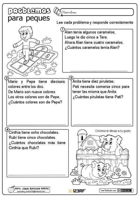 foto de Problemas para peques Matematicas cuarto grado