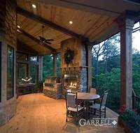 covered porch design Best 25+ Rustic house plans ideas on Pinterest | Mountain ...