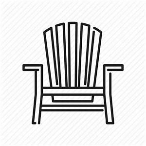 Adirondack chair, beach, chair, deckchair, seaside, travel ...