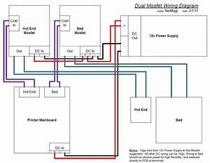 Anet A6 Wiring Diagram