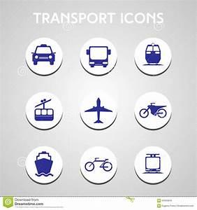 Cycling Icons Set Cartoon Style Cartoon Vector