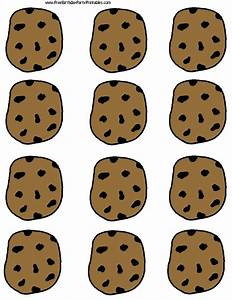 chocolate chip cooke printable template With cookies label template