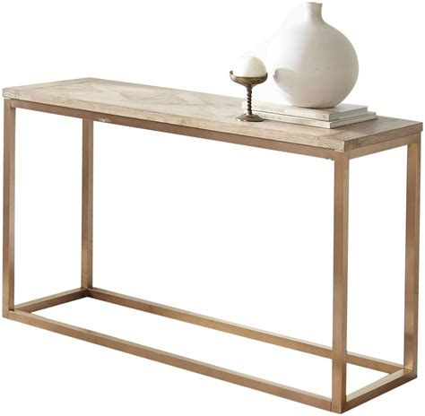Gino Driftwood Sofa Table From Steve Silver Coleman