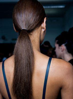 ponytail hairstyles tiered  sleek