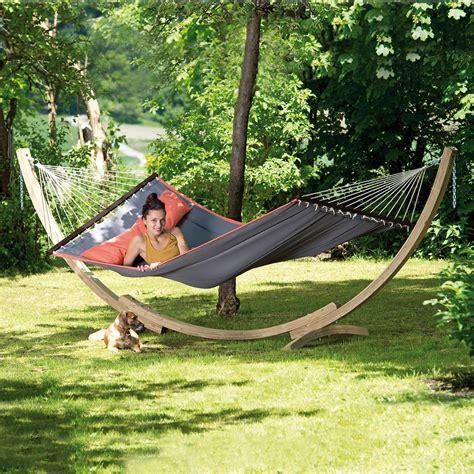 Gartenhängematte American Dream, Set, Grau Online Kaufen