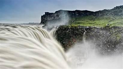 Dettifoss Bing Iceland Waterfall Asbyrgi March Japan