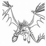 Draak Hookfang Kleurplaat Draken Kleurplatenpagina Verwarde sketch template