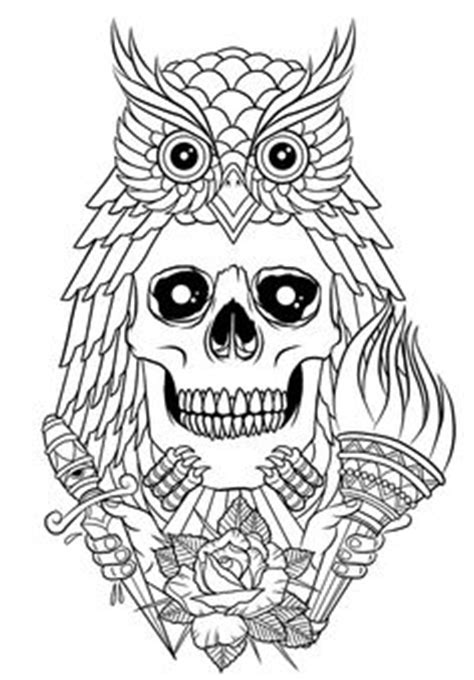 98 Best Body Art Tattoo Coloring Pages for Adults images