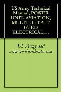 Us Army Technical Manual  Power Unit  Aviation  Multi