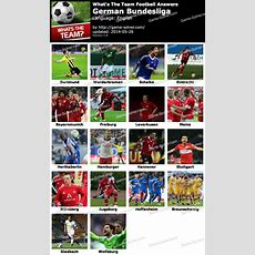 What's The Team German Bundesliga Answers  Game Solver
