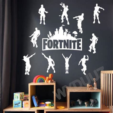 fortnite wall sticker xbox ps art vinyl decal game room