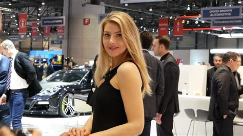 Girls Of The Geneva Motor Show 2018