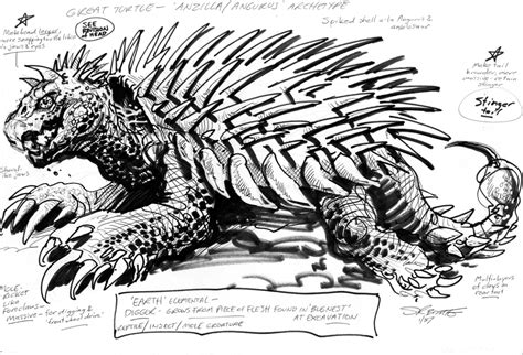 1987 Dark Horse Godzilla Proposal