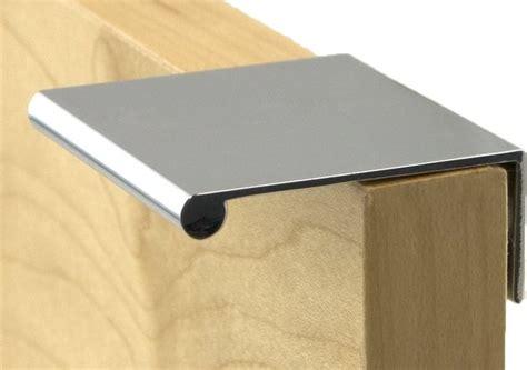 berenson decorative hardware bravo finger pull in polished chrome 1053 4026 p modern