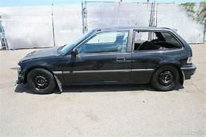 1991 Honda Civic Si Hatchback 5 Speed Manual 4 Cylinder No