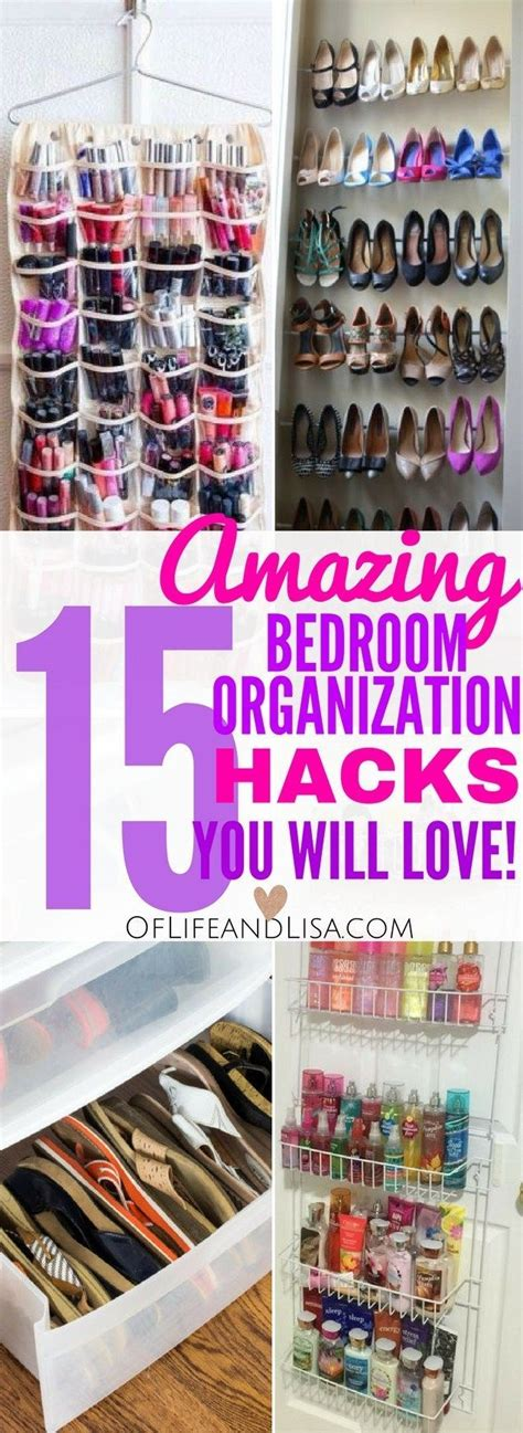 amazing small bedroom organization tricks  tips